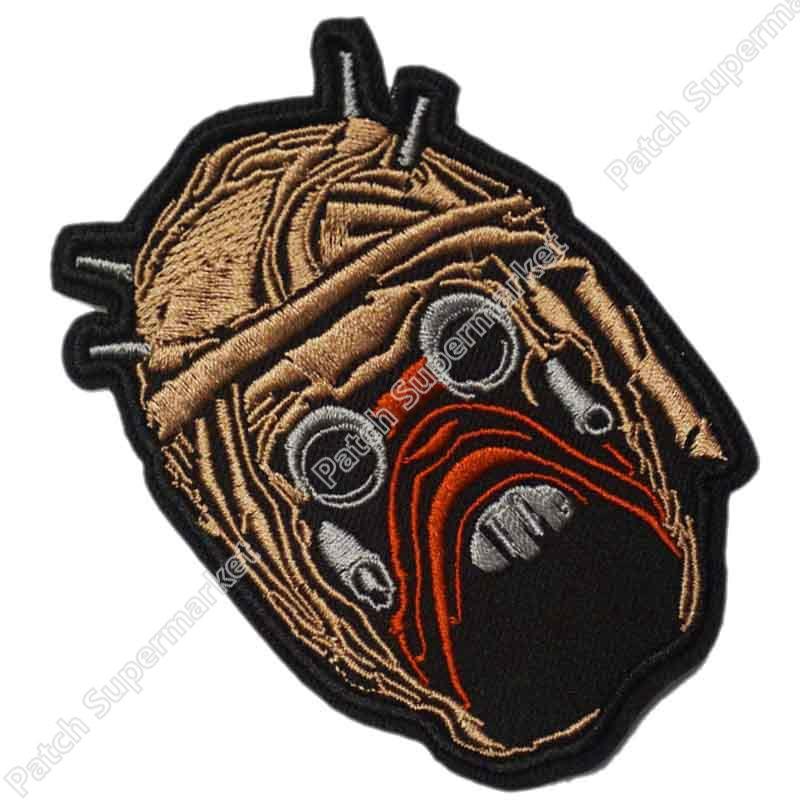 Tusken Raider Faccia di Star Wars Yoda Impero Jedi Luke Obi wan TV Pellicola Applique Costume Ricamato il ferro sul patch-in Toppe da Casa e giardino su  Gruppo 1