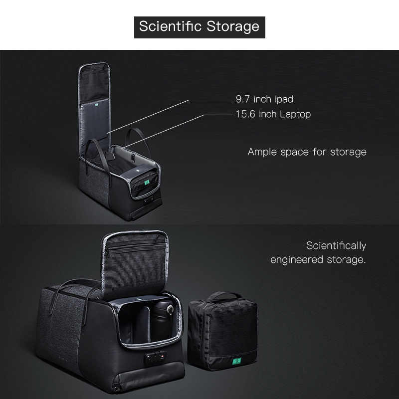 Krion FlexPack | лучший функциональный Анти-Вор Duffle & BackPack мужские дорожные сумки модные крутые сумки
