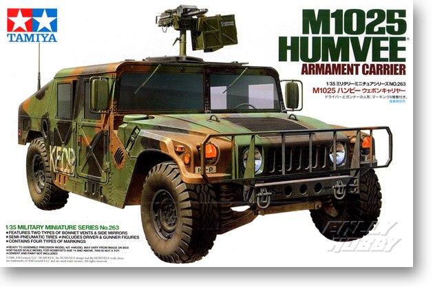 Tamiya Military Vehicles Model Rising M1025 Humvee Hummer Jeep