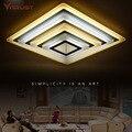Художественные креативные потолочные светильники  железные акриловые светодиодные потолочные лампы для гостиной  потолочные светильники ...
