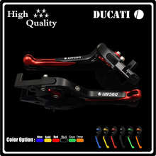 NEW Two Colors(black and red) Motorcycle Brake Clutch Levers For DUCATI Monster 400 620 696 796 S2R 800 620 MTS ST4S Accessories