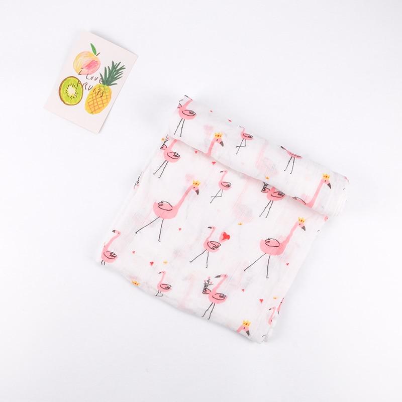 Super Soft Baby Blanket For Newborns Cotton Bamboo Fiber Baby Swaddle Multipurpose Stroller Cover Wrap