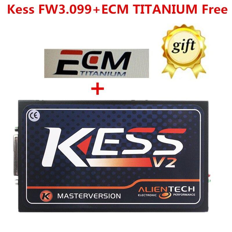 DHL Free Shipping KESS V2 GW3 099 ECU Chip Tuning No Tokens Limited KESS Master Version