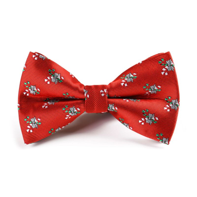 Classic Christmas Bow Ties For Men Women Christmas Tree
