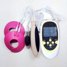 Секс Инструменты для продажи комплект из 3 предметов электрошок зажимы для сосков Анальная затычка груди Стимуляция массаж секс-игрушки для взрослых для мужчин и женщин.