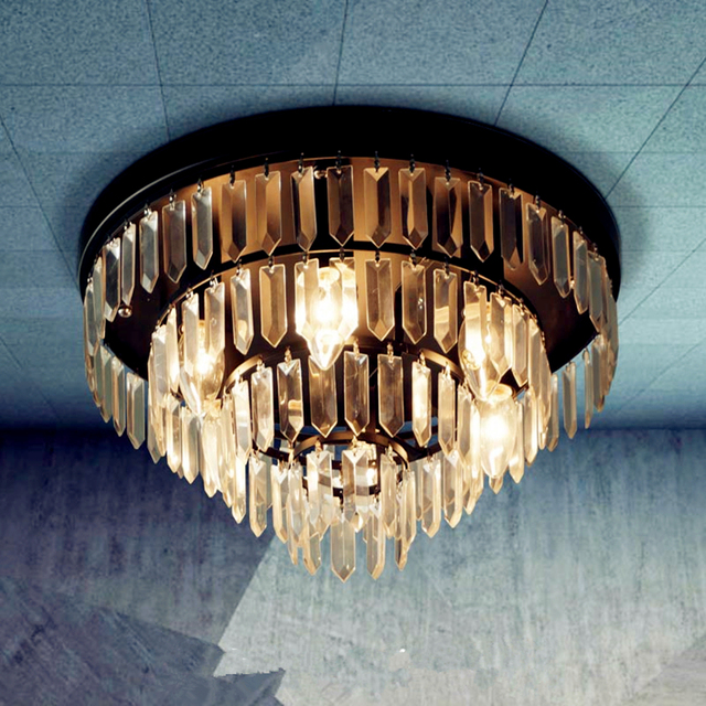 Moderne Kronleuchter, Kristall Pendelleuchte K9 Kristallleuchter Für  Bedrroom Licht Küche E14 Kristall Beleuchtung Led Leuchte