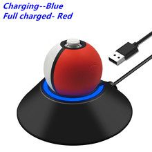 Stand Poke-Ball Nintendos Plus-Charging Dock-Station-Charger Power-Supply Eevee-Charge