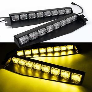 48LED 48W LED Lightbar Visor L
