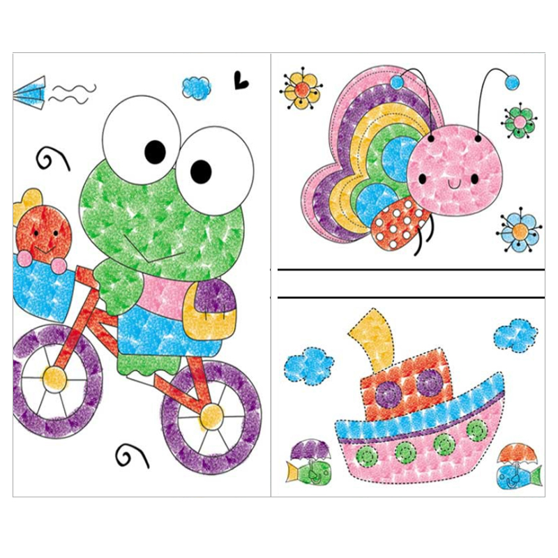 8pcslot-Kids-Toy-Anime-Drawing-Set-Cards-Stickers-Diy-Coloring-Books-for-Kids-Water-Drawing-Book-Hand-Spinner-Toys-for-Children-5