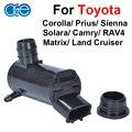 Bomba lavaparabrisas para toyota corolla camry rav4 matrix prius luces delanteras del coche 85330-33020 85330-aa010 85330-12340 85330-20190