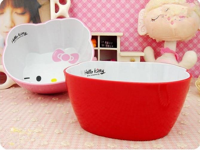 2016 Children Gift Cute Cartoon Hello Kitty Children's Tableware Set Children's Soup Practical Children's Tableware