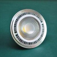 Prix de gros COB LED AR111/G53 led spot lumière 15 W COB LED Ampoule Spots Blanc Chaud Nature Blanc froid Blanc AC85-265V