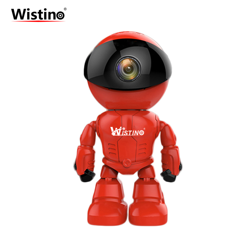 Wistino 960P IP Camera Robot Wireless Smart Home WIFI Baby Monitor 1.3MP CCTV Security Camera Indoor Alarm Surveillance Remote