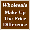 Making up the price difference and wholesale products PF01