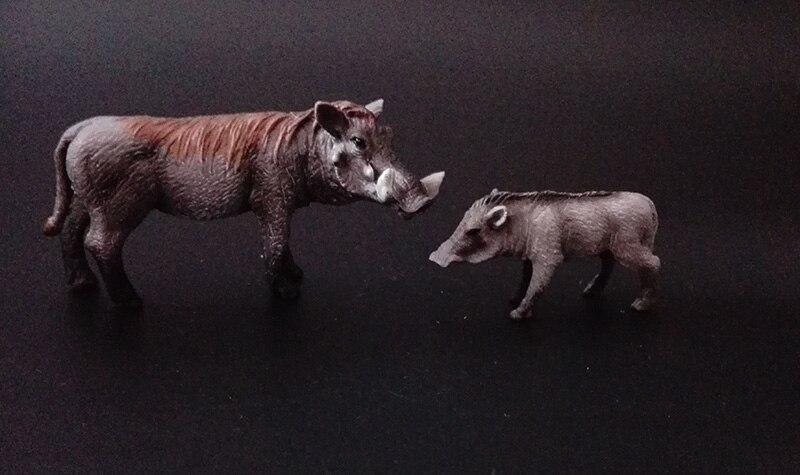 381f1a59b4443e Originele sealife boerderij wilde afrikaanse Savanna dieren koning tijger  leeuw warthog nijlpaard neushoorn familie sets simba model speelgoed  kinderen gift ...