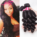 Brazilian Loose Wave Virgin Hair 7a Grade 1 Bundle Deals Lanqi Hair Store Brazilian Virgin Hair Loose Wave 100% Human Hair