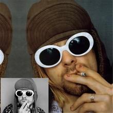 Women Men fashion NIRVANA Kurt Cobain Sunglasses  Women's Glasses UV400 Mirrored Women Men Fahion Female Male Sun Glasses