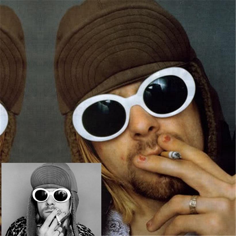 YOOSKE Vrouwen Mannen mode NIRVANA Kurt Cobain Zonnebrillen Clout - Kledingaccessoires - Foto 3