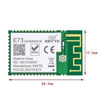 Прочный NRF52832 2,4 ГГц приемопередатчик приемник E73-2G4M04S1B SMD BLE 5,0 беспроводной bluetooth-модуль