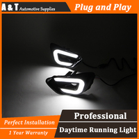A T Car Styling For Jeep Compass LED DRL For Compass High Brightness Guide LED DRL