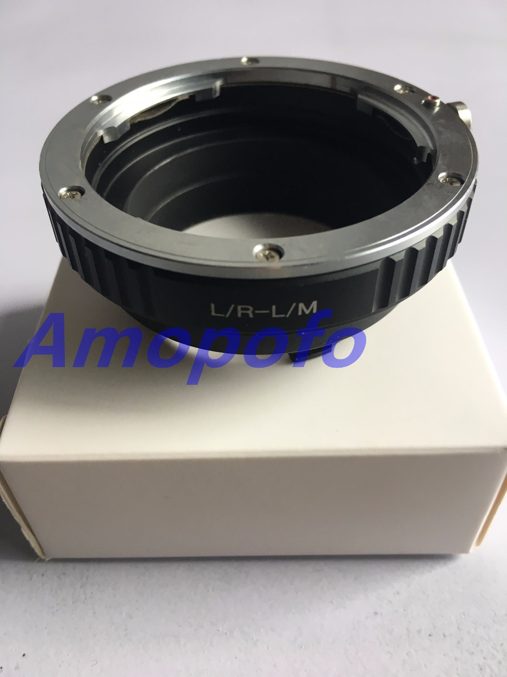 Amopofo lr-lm adaptateur pour leica r lr lens pour pour leica M L/M M9 M8 M7 M6 M5 pour TECHART LM-EA 7