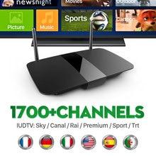 Smart Box Tv Q1504 Android Tv Box С Франция Европа ArabicCanal Спортивных Каналов Ligtv Швеция Нидерланды Турецкий Испанский IPTV