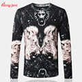 Men Cotton Knitting Sweater Spring Autumn Knitted Worsted O-Neck Pullover Brand Casual Big Size Knitwear Thin Sweater SL-K115