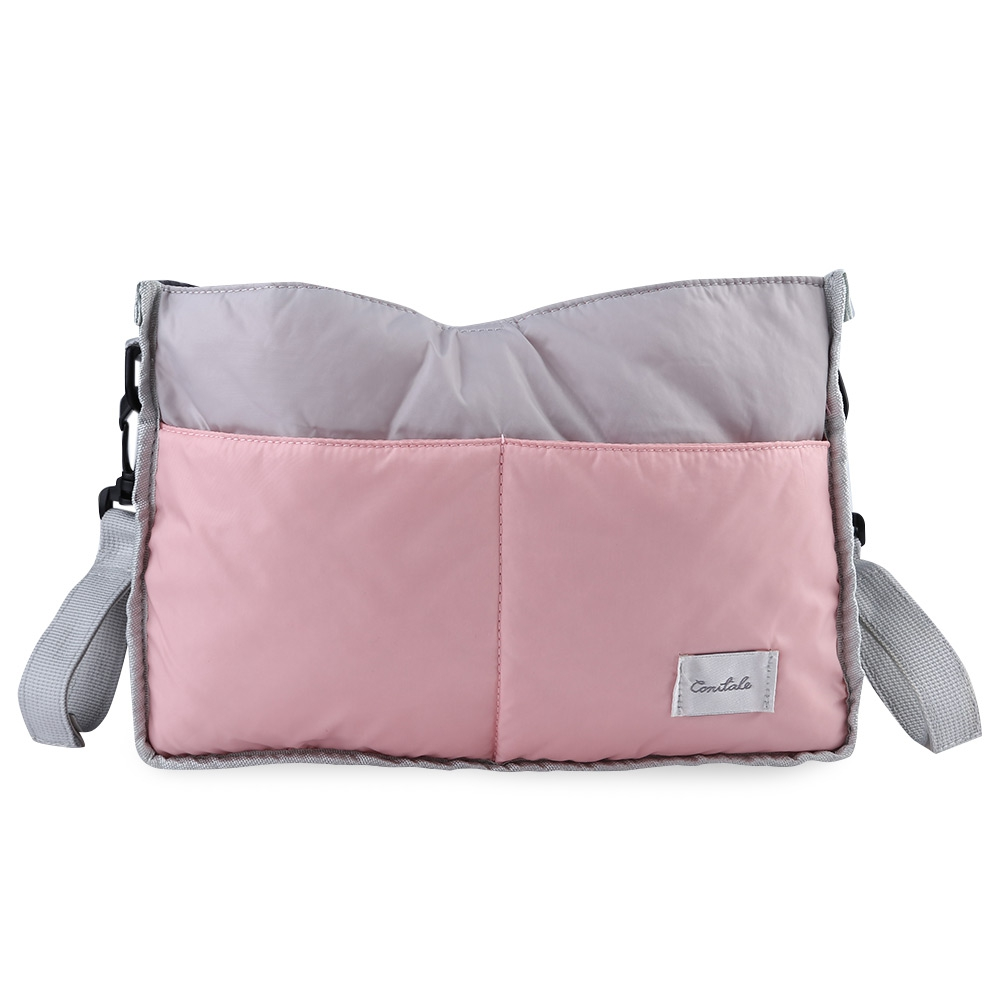 New Arrival Multi-functional Polyester Large Capacity Hook Design Baby Stroller Storage Mother Carriage Bag