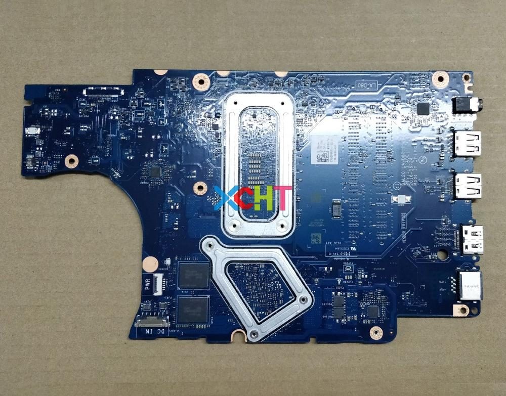 For Dell Inspiron 5567 5767 Y8N7H 0Y8N7H CN 0Y8N7H W I7 7500u CPU BAL20 LA D801P DDR4 Laptop Motherboard Mainboard Tested