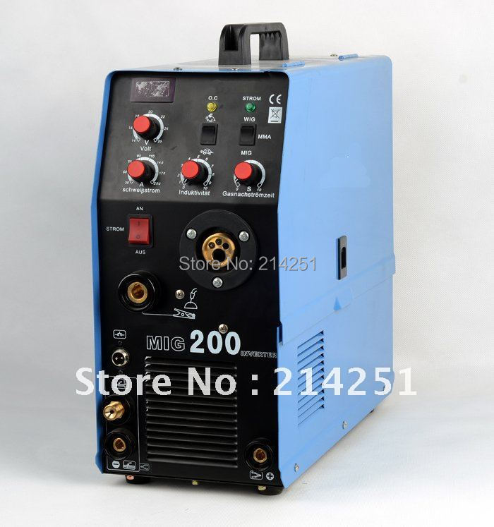 2014 Rushed Direct Selling Freeshipping Welding Machines Mig Tig Mma 3ni1 Welding Machine