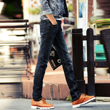 jeans men  2016 new casual slim denim  pants straight skinny cotton trousers Plus Size 28-40#YF6003