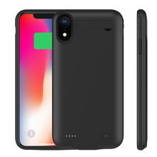 4200 mAh External Battery with Audio For iPhone XR Cordless Backup Charger Mobile Protective Case Power Bank Cover