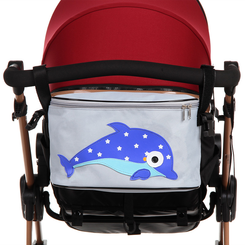 Baby Bag with Good Quality stroller organizer Trolley Baby Stroller Car heighten Storage Bag Mama Bag Nappy Diaper Shopping Bag