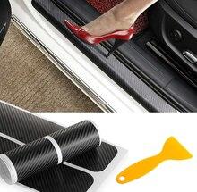 4 шт., наклейка на дверь из углеродного волокна для автомобиля, Виниловая наклейка для mazda MS mazda 2 mazda 3 mazda 6 M5 cx 5