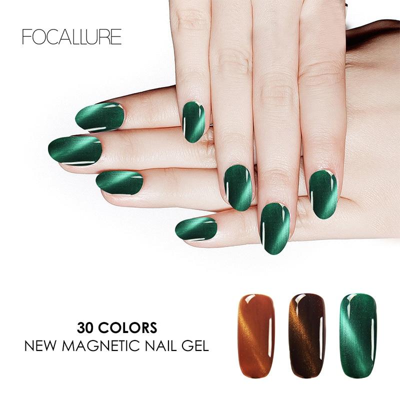Focallure Nail Gel Polish Set Magnetic Nail Polish Color Gel Varnish Lacquer Nail Art Soak Off UV Gel Nail Polish