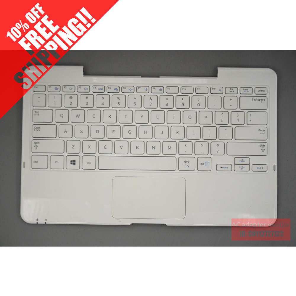 FOR samsung keyboard XE500T1C 500T1C-A02 palmrest with keyboard white