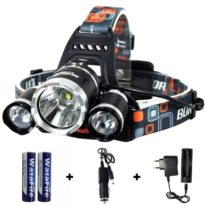 11000LM High Power LED Headlight Head Lantern Headlamp 18650 Flashlight Forehead Camping Light Waterproof Lamp XML-T6 Led Torch maimu 8000lm usb power led headlamp cree xml t6 3 modes rechargeable headlight head lamp torch for hunting 18650 head light d14