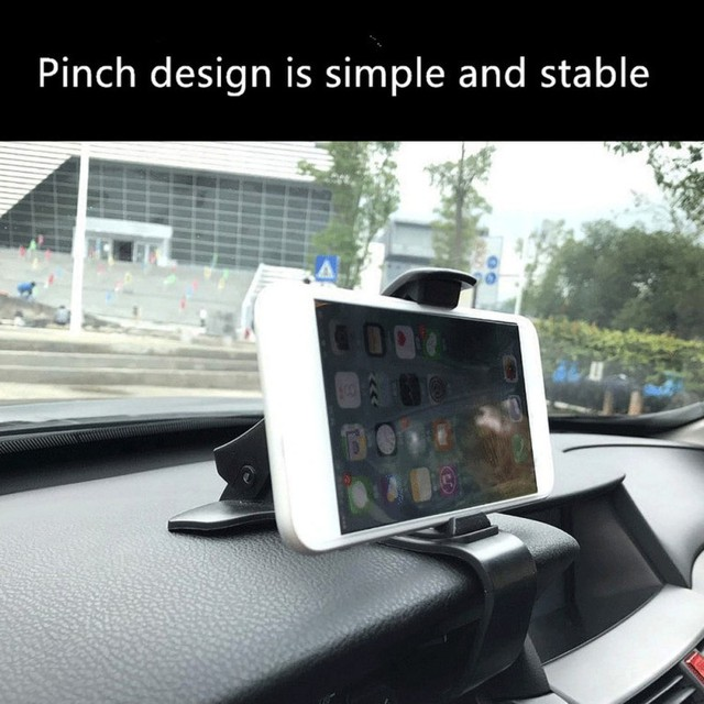 Tendway uchwyt samochodowy do telefonu nawigacja GPS uchwyt telefonu na deskę rozdzielczą do uniwersalnego klips do telefonu komórkowego składany uchwyt stojak do montażu wspornika