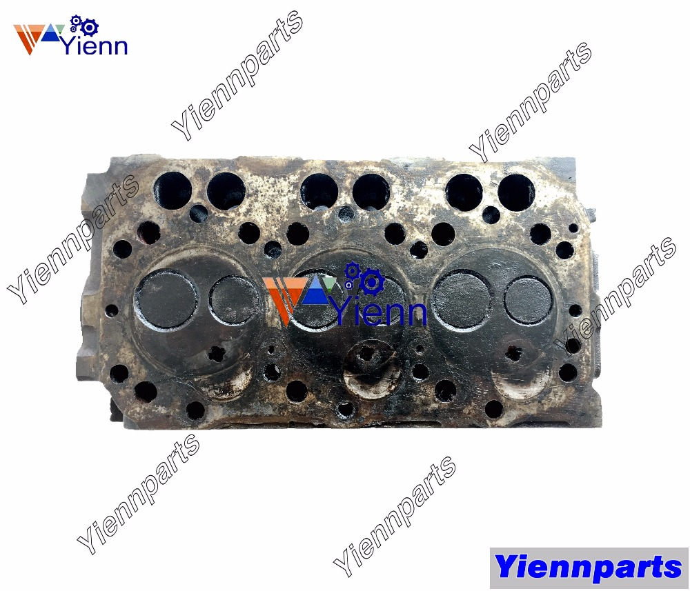 US $597 2 |Yanmar 3TNA72 Cylinder Head Assy 119629 11700 For John Deere 430  455 755 F925 F935 Tractors 3TNA72C Diesel Engine Spare Parts-in Pistons,