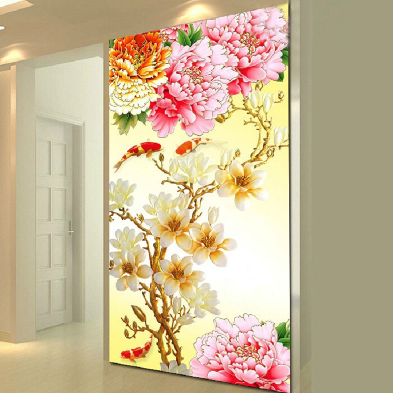 ∞5D DIY Diamond Painting Kits Full Square Rhinestone Draw Diamond ...