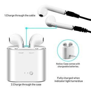 Image 4 - Bluetooth Wireless Earphones i7s TWS Bluetooth Wireless Earphones Mic Sports Stereo Earbuds With Charging Box