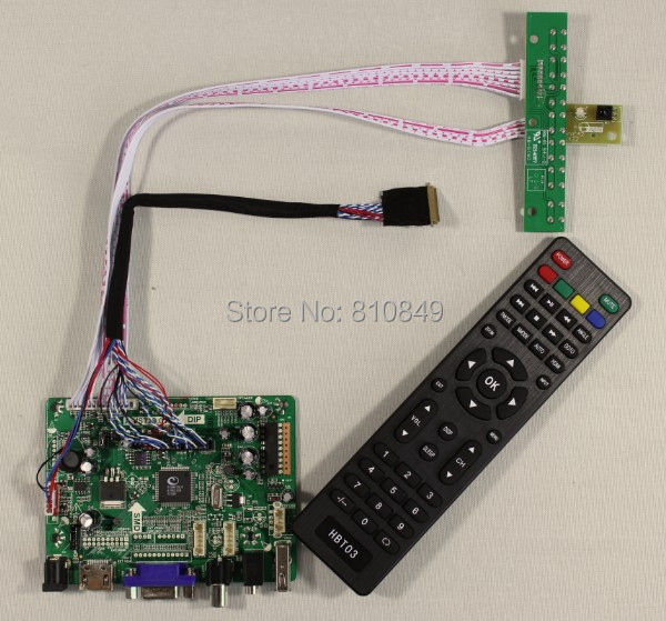 Details about  HDMI+VGA+AV+Audio+USB Controller board VST29.01B for 17.3LP173WD1 1600*900 lcd screen model lcd for Raspberry Pi hdmi vga av audio usb controller board for m201ew01 1680 1050 6ccfl lcd panel for raspberry