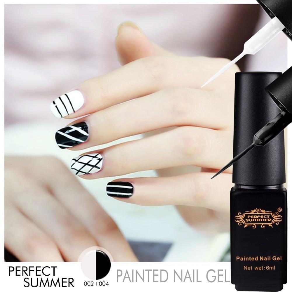 Perfect Summer UV Gel Nail Polish Gel Liner Painted Nail Gel Dotting ...