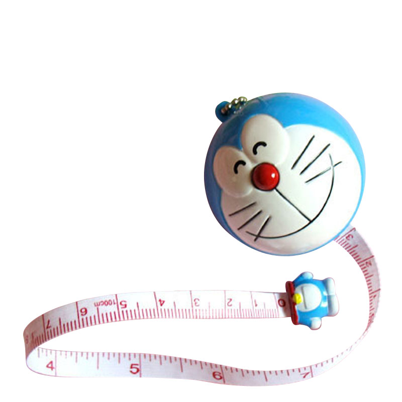 Kid's Drawing Play Toy Tape Measurement 1m Ruler -NEW Drawing TOY Tape Ruler Keychain Tape 100cm Ruler J0093