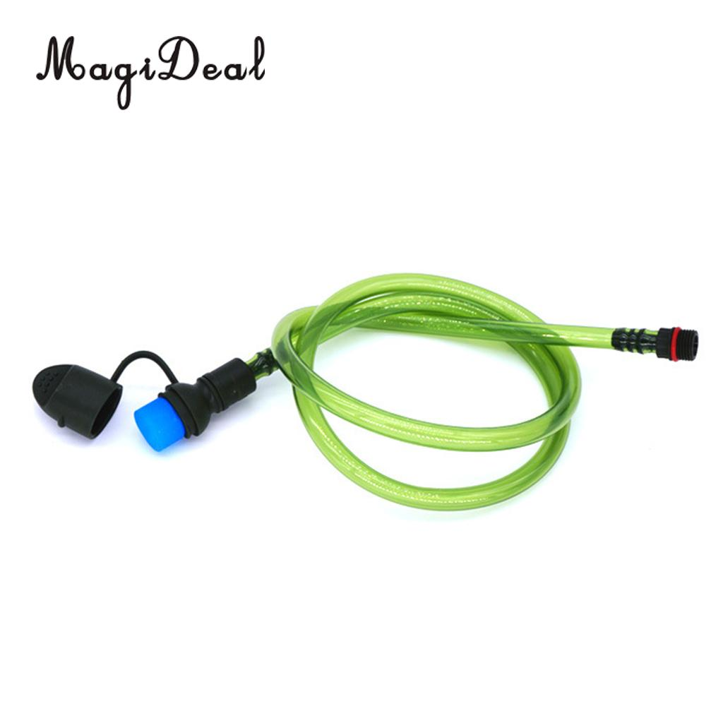 MagiDeal Hydration Pack Drinking Tube Hose Kit for Outdoor Cycling Running Biking Water Bladder Bag Backpack