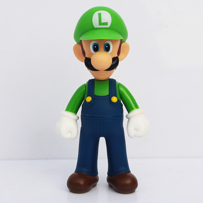 Action Figure Luigi Super Mario Bros 1