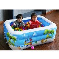 Inflatable Swimming Water Pool Portable Outdoor Children Bathtub Game Playground Piscina Bebe Zwembad PVC Waterproof pool
