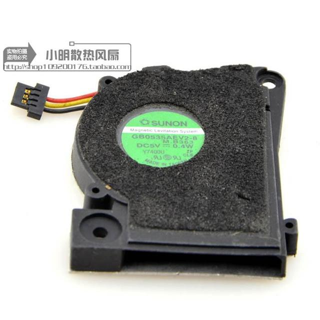 Free Delivery. 5 v 0.45 W GB0535AEV2-8 M.B 474 3 line notebook CPU fan