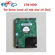1TB HDD dla bmw icom i MB gwiazda C4 C5 z oprogramowaniem pasuje do 95 laptopów 2in 1TB nowy wewnętrzny dysk twardy do naprawa samochodów narzędzie diagnostyczne tanie tanio RACEAUTO 0 2kg Plastic and metal V12 2019 12cm software for MB star and For BMW icom as show one year MB Star C4 ICOM A2 B C software