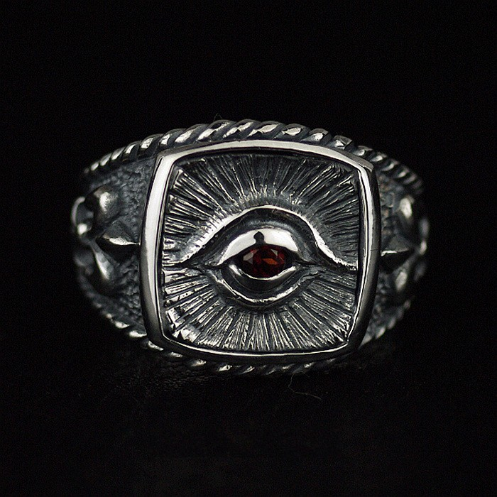 * Thailand import, the eye of god omniscient eye opening 925 sterling silver ring the realm of clans anime ling yu qinlie 925 sterling silver ring comics cartoon